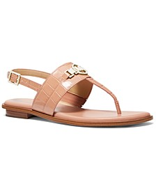 Hattie Strappy Logo Sandals