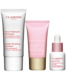 Receive a FREE 3pc Gift with any $75 Clarins Purchase (A $41 Value!)