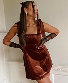 Velvet Ruffled Mini Dress, Created for Macy's