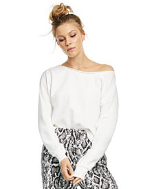 CULPOS x INC Off-The-Shoulder Knit Top, Created for Macy's