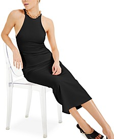 CULPOS X INC Ribbed Halter Dress, Created for Macy's