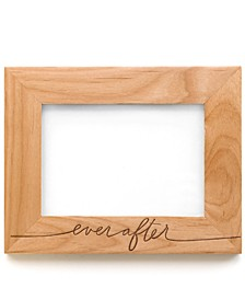 """Ever After Wooden Picture Frame, 5x7"""""""