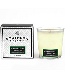 Williamsburg Pineapple and Sage Tumbler, 11 oz
