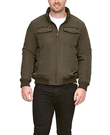 Men's Big & Tall Four-Pocket Filled Performance Jacket, Created for Macy's