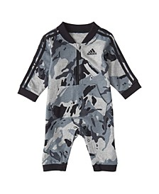 Baby Boys Long Sleeve Classic Camo Print Coverall
