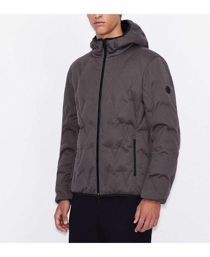 A|X Armani Exchange - |X  Contrasting Logo Down Jacket