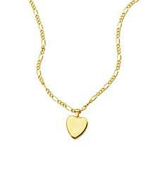 Figaro Chain Heart Necklace