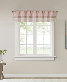 "Amherst 50"" x 18"" Window Valance"
