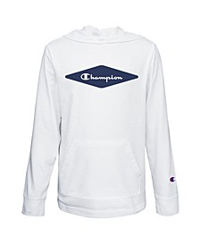 Diamond Script Big Boys Jersey Hoodie