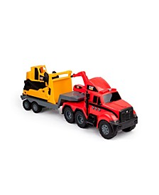 Cat Heavy Movers Fire Truck with Bulldozer