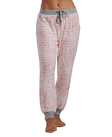 Printed Jogger Pajama Pants
