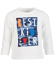 Baby Boys Best Kid Ever Cotton T-Shirt, Created for Macy's