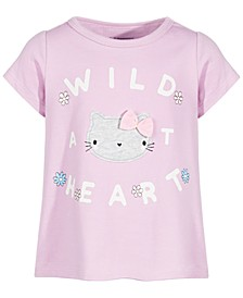 Baby Girls Wild Heart Cotton T-Shirt, Created for Macy's