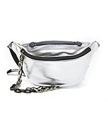 Harley Chain Embellished Belt Bag