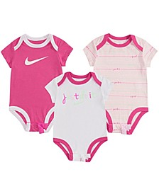 Baby Girls Bodysuit 3-Pack