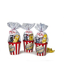 For the Love of Popcorn Ceramic Bowl Cello Gift Set