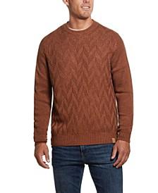 Men's Chevron Crew Neck Sweater