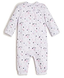 Baby Girls Mini Floral Coverall