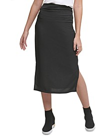 Nail Head Pencil Skirt