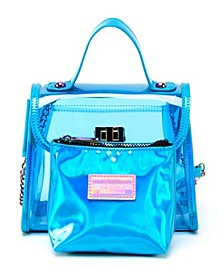 Hologram Cube Satchel