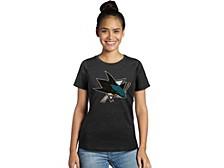 San Jose Sharks Women's Primary Logo T-Shirt