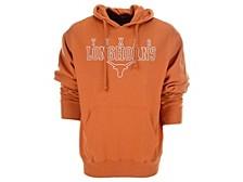 Texas Longhorns Men's Stacked Cotton Hooded Sweatshirt