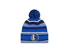 Dallas Mavericks Striped Marled Knit Hat