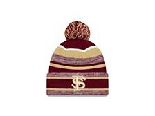 Florida State Seminoles NCAA Striped Marled Knit Hat
