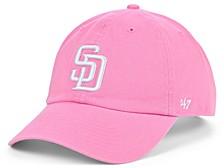 San Diego Padres Pink CLEAN UP Cap
