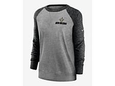 New Orleans Saints Women's Gym Vintage Crew Sweatshirt