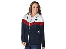 G-lll Sports New England Patriots Women's Stadium Lightweight Jacket