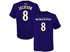Baltimore Ravens Kids Mainliner Player T-Shirt Lamar Jackson