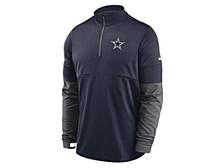 Dallas Cowboys Men's Sideline Half Zip Therma Top