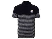 Pittsburgh Steelers Men's Shadow Stripe Polo