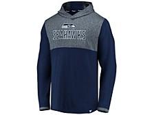 Seattle Seahawks Men's Marble Clutch Lightweight Hoodie