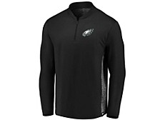 Philadelphia Eagles Men's Clutch Modern Quarter Zip Pullover