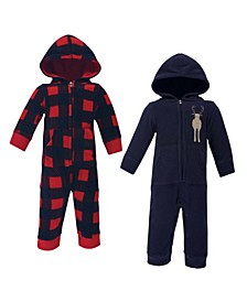 Boys and Girls Fleece Jumpsuits, Coveralls, and Playsuits