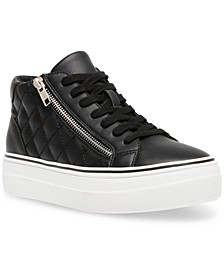 Women's Gryphon-Q Flatform Quilted High-Top Sneakers