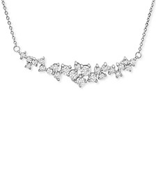 Diamond Scatter Necklace (1 ct. t.w.) in 14k White Gold