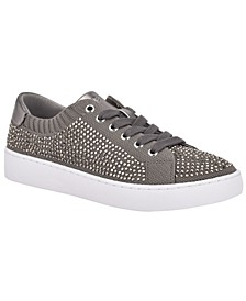 Abbie Women's Rhinestone Embellished Fashion Sneakers