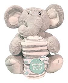 "Snoogie Boo Hug Me Ultra Soft Blanket with Stuffed Animal Toy Set, 30"" x 36"""