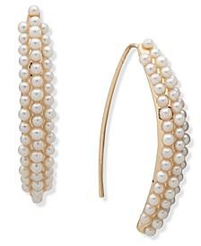 Pearl Threader Earrrings