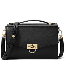 Michael Michael Kors Hendrix Medium Leather Messenger Bag