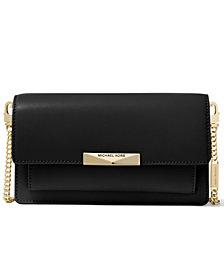 Michael Michael Kors Jade Extra Small Leather Wallet Crossbody