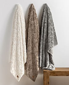 Adalee Faux Fur Throw