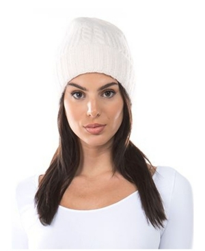 Women's Cable Knit Cuff Hat