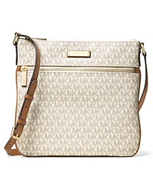 Signature Bedford Flat Small Crossbody