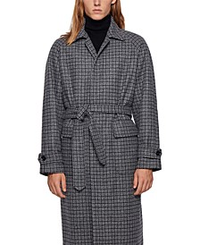BOSS Men's Gibor Relaxed-Fit Coat