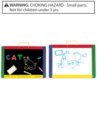 Melissa and Doug Kids Toy, Magnetic Chalkboard and Dry-Erase Board