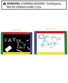 Kids Toy, Magnetic Chalkboard and Dry-Erase Board